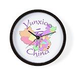 Yunxiao China Map Wall Clock