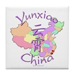 Yunxiao China Map Tile Coaster