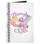 Zhenghe China Map Journal