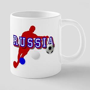 Russia Soccer Player Mugs