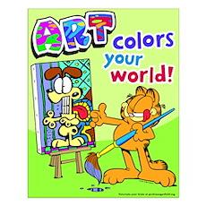 Garfield Art Small Poster