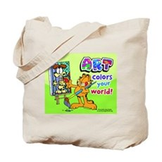 Garfield Art Tote Bag
