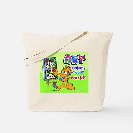 Garfield Art Tote Bag