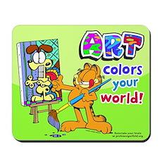 Garfield Art Mousepad