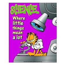 Garfield Science Small Poster