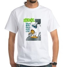 Garfield Science White T-Shirt