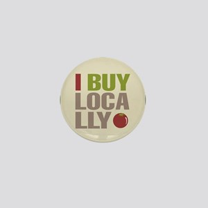 I Buy Locally Mini Button