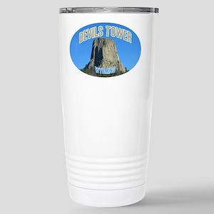 Devils Tower National Monumen Stainless Steel Trav
