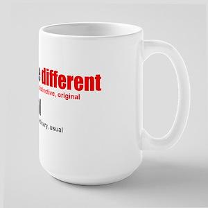 Rather be Different Large Mug