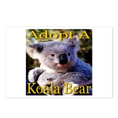 Adopt A Koala Bear Postcards (Package of 8)