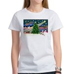 Xmas Magic & Whippet Women's T-Shirt