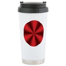 Red Illusion Stainless Steel Travel Mug