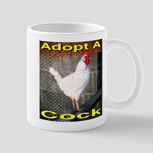 Adopt A Cock Mug