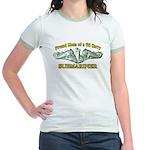 Proud Mom Jr. Ringer T-Shirt