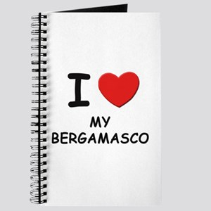 I love MY BERGAMASCO Journal