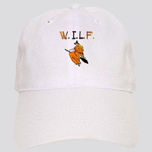 W.I.L.F. (Black and Orange) Cap