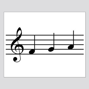 Musical Notes Small Poster