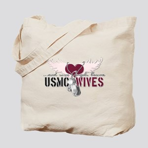 ...and some angels become USM Tote Bag