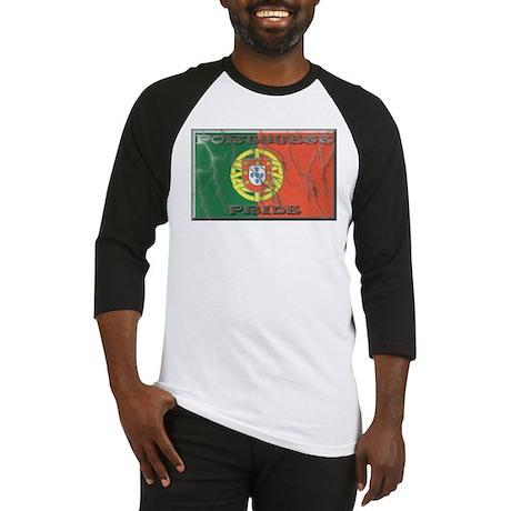 Portugese Pride Baseball Jersey