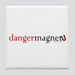Danger Magnet Tile Coaster