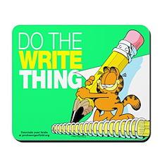 Garfield Writing Mousepad