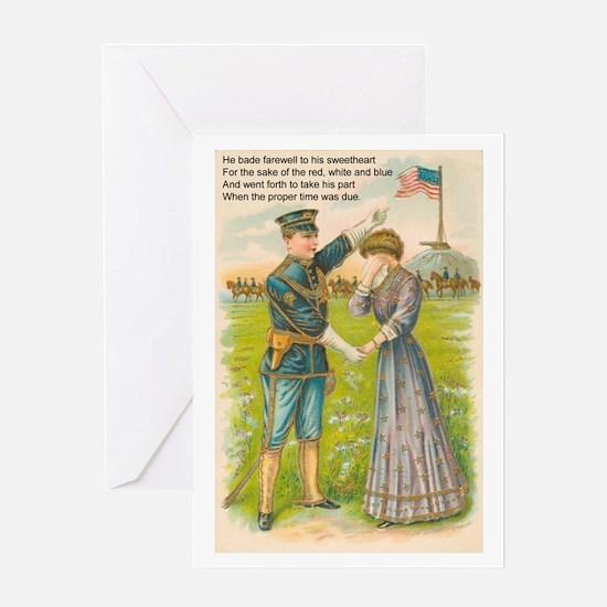 WWI Era Soldier Greeting Card