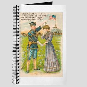 WWI Era Soldier Journal