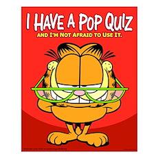 Pop Quiz Garfield Small Poster