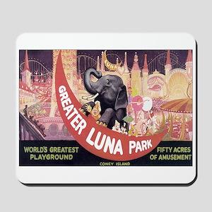 LUNA PARK NEW YORK Mousepad