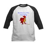 Mommy's Little Hatchling Kids Baseball Jersey