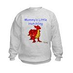 Mommy's Little Hatchling Kids Sweatshirt