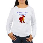 Mommy's Little Hatchling Women's Long Sleeve T-Shi