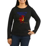 Mommy's Little Hatchling Women's Long Sleeve Dark