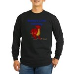 Mommy's Little Hatchling Long Sleeve Dark T-Shirt