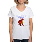 Mommy's Little Hatchling Women's V-Neck T-Shirt