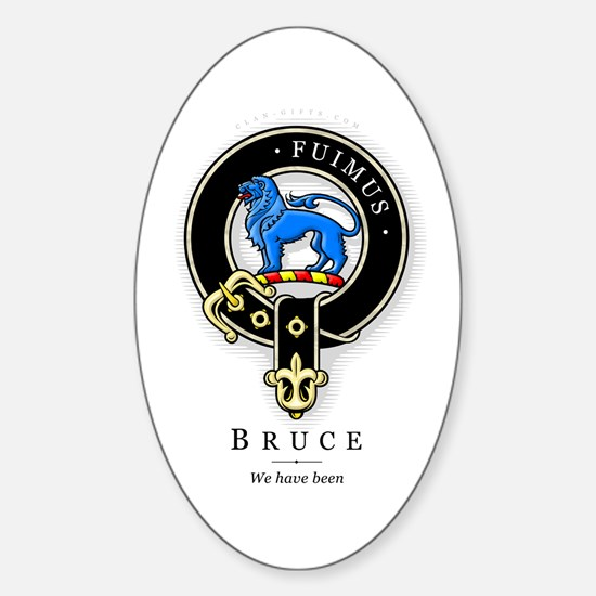 Clan Bruce Oval Decal