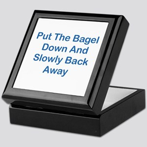 Put The Bagel Down Keepsake Box