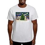 XmasMagic/Wheaten (#10) Light T-Shirt