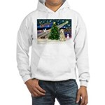 XmasMagic/Wheaten (#10) Hooded Sweatshirt