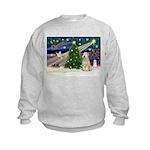 XmasMagic/Wheaten (#10) Kids Sweatshirt