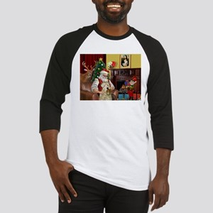 Santa's Wheaten (#7) Baseball Jersey