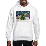 Xmas Magic & Westie Hooded Sweatshirt
