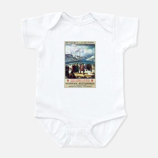 Pittsburgh Pennsylvania Infant Bodysuit