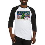 Xmas Magic & 2 Westies Baseball Jersey