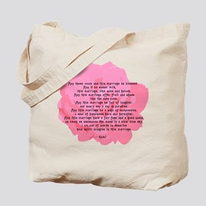 RUMI Poem Wedding Blessing Tote Bag