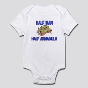 Half Man Half Armadillo Infant Bodysuit