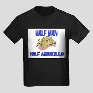 Half Man Half Armadillo Kids Dark T-Shirt