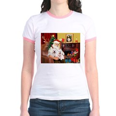 Santa's Westie pair T