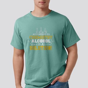 Funny Science According To Chemistry Alcoh T-Shirt