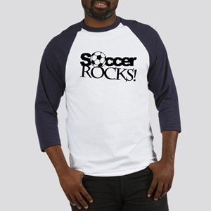 Soccer Rocks Baseball Jersey